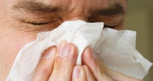 Аллергические причины шелушения носа