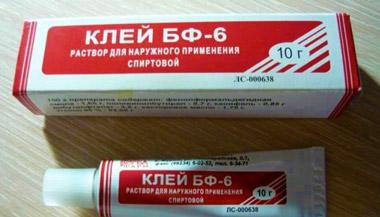 Медицинский клей БФ-6