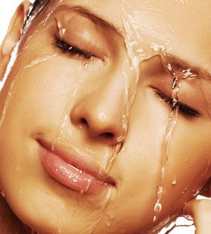 Воздействие водопроводной воды на кожу