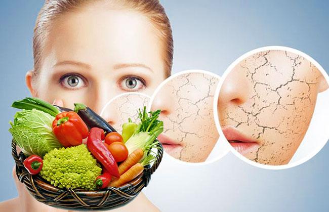 Основные правила питания при сухой коже