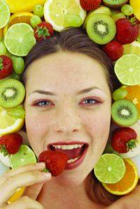 Правильное питание при сухости кожи