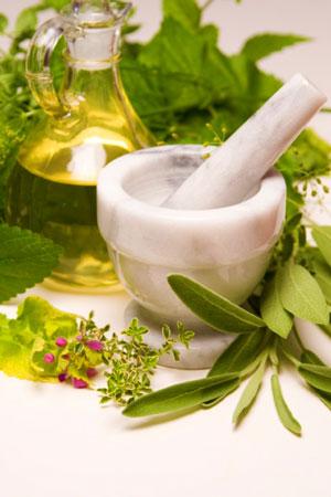 Растительные компоненты от сухой кожи