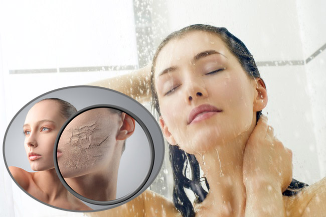 Почему кожа сохнет после душа