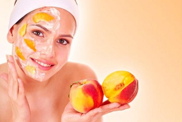Персик для лица