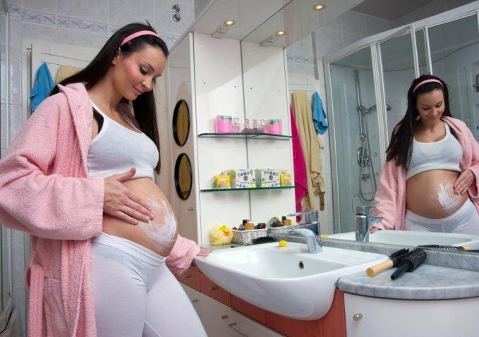 Сухая кожа при беременности